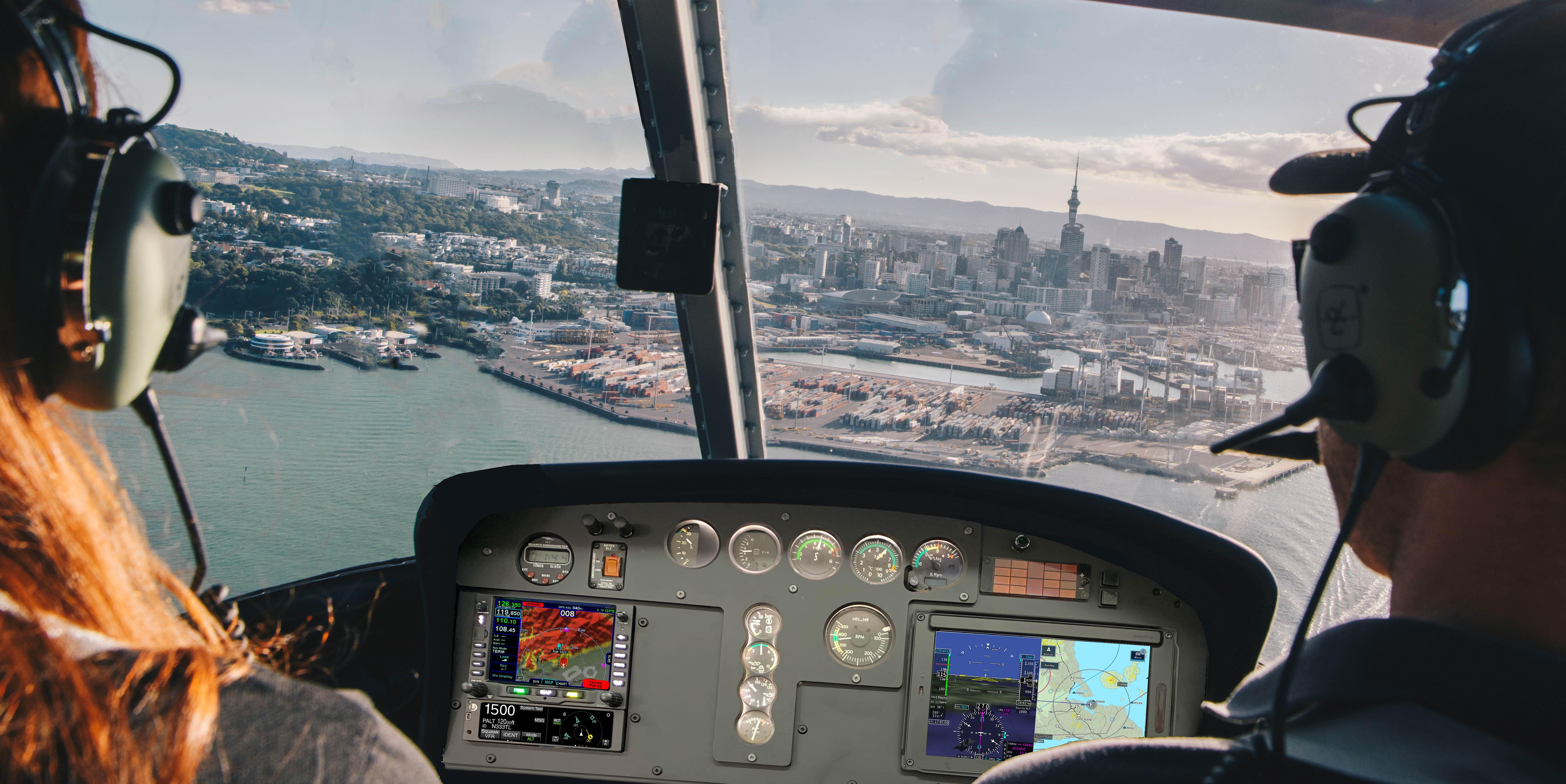 as350 cockpit upgrade, airwork design, mods, stc