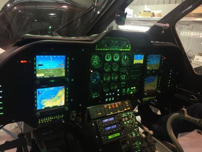 bk117 helicopter mods, design, stc, cockpit upgrade, 850 engine